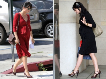Selma Blair, fashion future maman