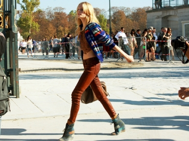 Le style d'Hanne Gaby Odiele