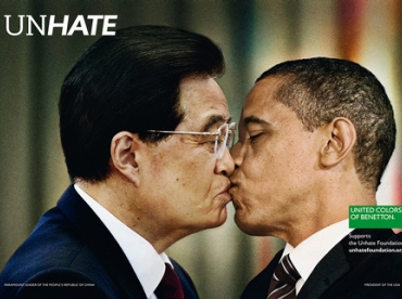 Benetton - Campagne Unhate