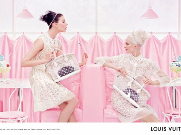 Louis Vuitton - Campagne printemps/�t� 2012