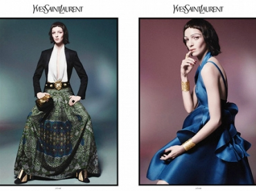 Yves Saint Laurent - Campagne printemps/�t� 2012