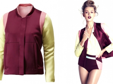 Blouson color block H&M