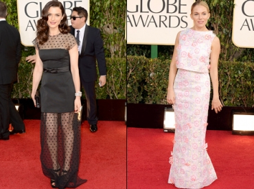 Golden Globes 2013 : les fashion faux pas
