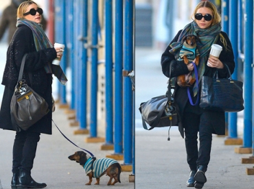 Ashley Olsen, le fashion faux pas