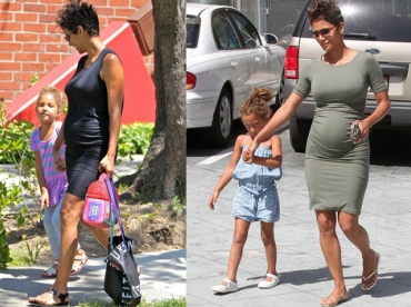Halle Berry : casual grossesse