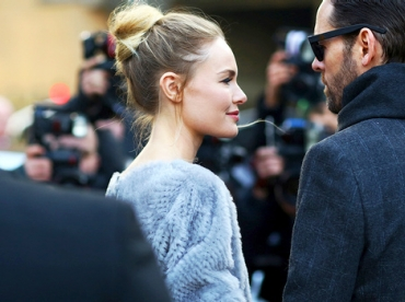 Le chignon haut de Kate Bosworth