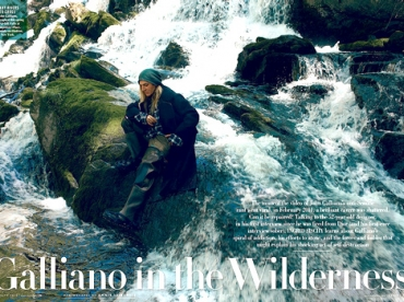 John Galliano, l'interview