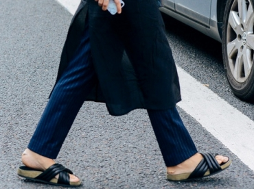 Robe + pantalon = le bon mix ?