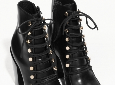 Wanted : une paire de bottines � lacets