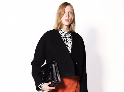 Difficile d'�tre s�duit par les mannequins de la derni�re collection Proenza Schouler...