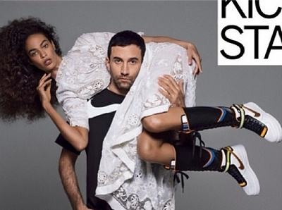Le r�sultat de la collaboration entre Nike et Riccardo Tisci nous laisse dubitatifs...