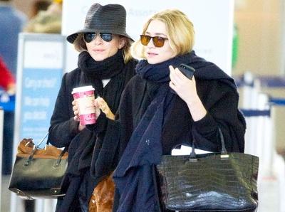 Les soeurs Olsen craquent pour les Birkenstock...