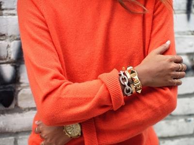 Le meilleur alli� de la couleur orange ? Un joli bronzage !