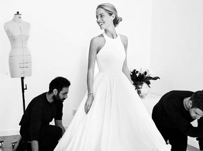 La premi�re robe de mari�e Mary Katrantzou nous donne envie d'en voir plus !