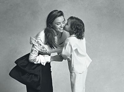 Le fils de Miranda Kerr, d�j� dans le Vogue Australie !
