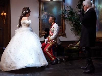 Pharrell Williams, nouveau chouchou de Karl Lagerfeld