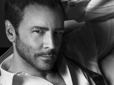 Tom Ford pose pour son propre parfum
