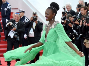 Le vert Gucci sied particuli�rement bien � Lupita Nyong'o