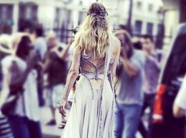 Doutzen Kroes ou la magie Versace Couture