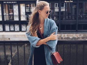 Le kimono en denim, une bonne alternative au trench !