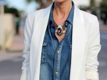 Plusieurs saisons apr�s sa sortie, ce collier Zara fait toujours autant d'effet !
