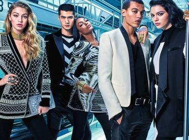 Premi�re image de la campagne Balmain x H&M