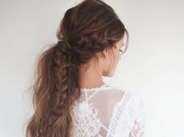 La parfaite coiffure de mariage #1