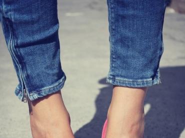 Rien de tel qu'une paire d'escarpins rose pour se mettre de bonne humeur !