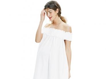 Cet �t�, les robes Bardot feront la joie des futures maman !