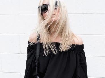 Le parfait total look noir #210