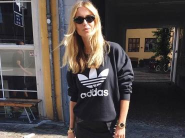 Cette saison, le sweat Adidas se porte en mode