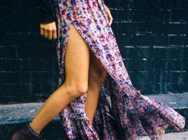 La jupe longue, plus sexy que la mini-jupe ?