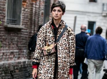 Le manteau l�opard pourrait bien �tre l'une des obsessions de la saison