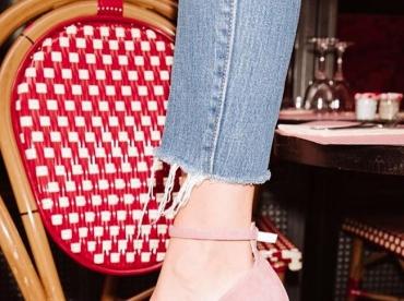 Rien de tel qu'une paire d'escarpins girly pour voir la vie en rose !