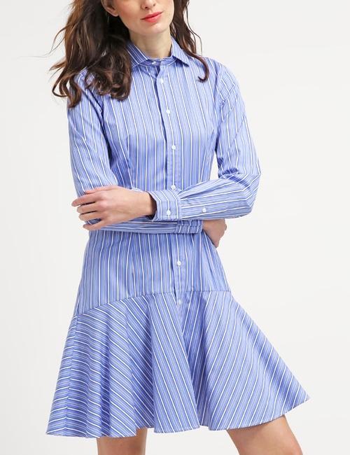 Robe bleu clair Ralph Lauren