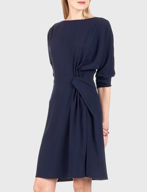 Robe bleu marine T. Jarmon