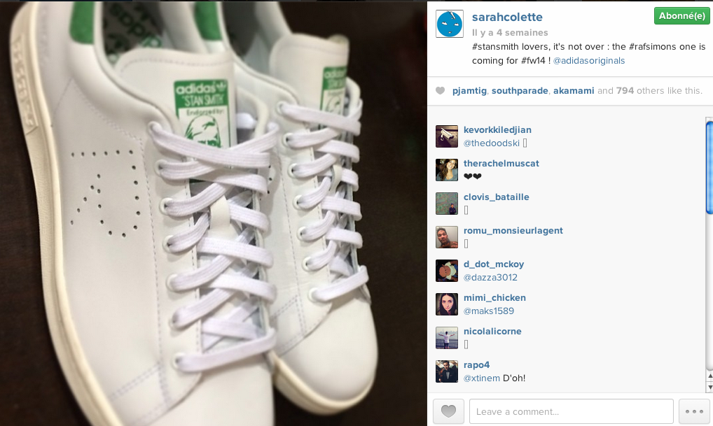 adidas stan smith fausse