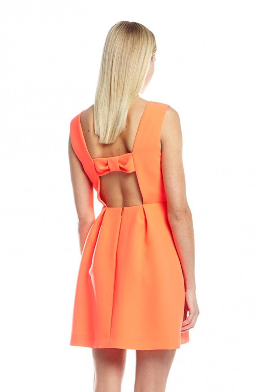 robe orange comment la porter un mariage tendances