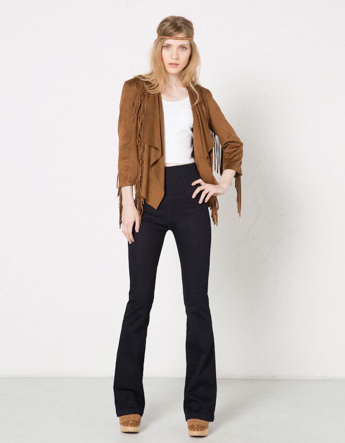 Veste franges comment la porter tendances de mode - Veste printemps quelles sont les tendances pour cette saison ...