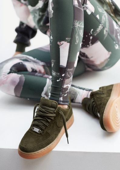 Cortez Nike Kaki Femme