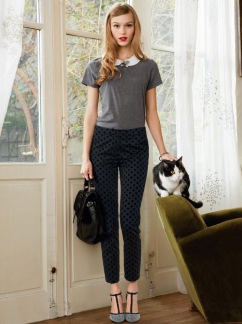 Bien connu Comment porter le pantalon à pois ? - Tendances de Mode RI68