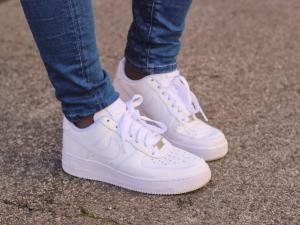 ... Nike Air Force 1 blanches ...