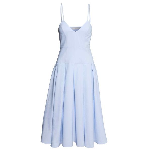 Robe bleu ciel H&M