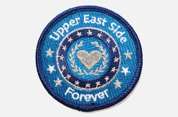Ecusson Douze Ao�t - Upper East Side Forever