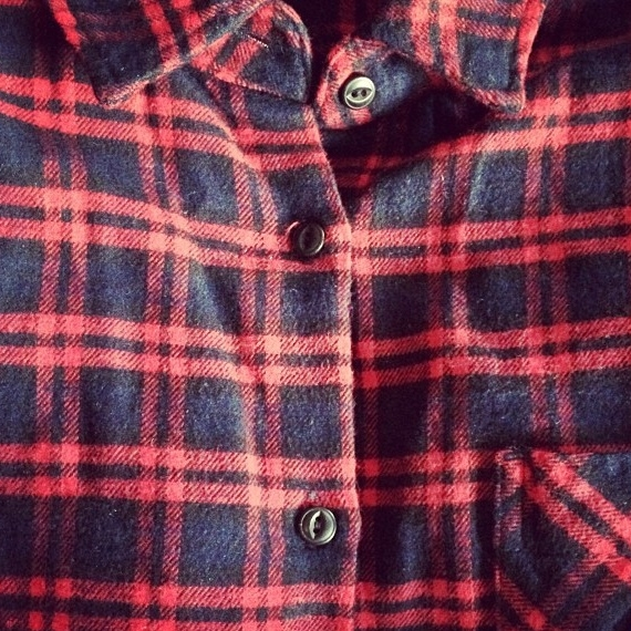 Chemise à carreaux Muji