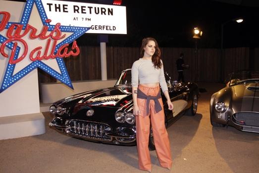 Kristen Stewart chez Chanel