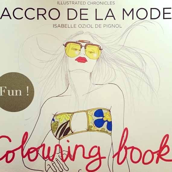 Coloring book - Accro de la Mode