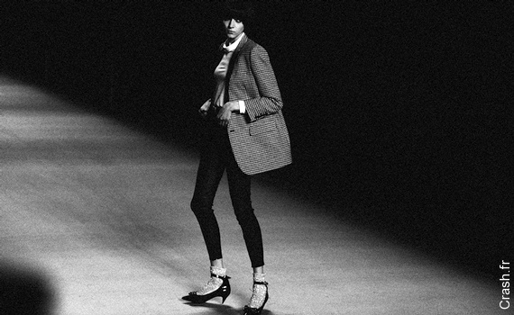 D�fil� Saint Laurent Paris