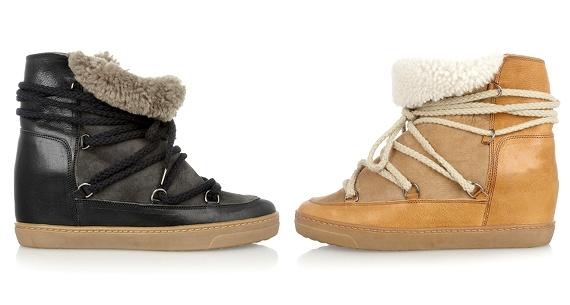 Boots de montagne Isabel Marant