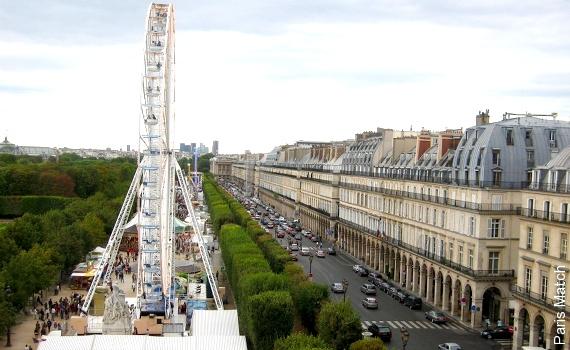 Fête foraine du Jardin des Tuileries